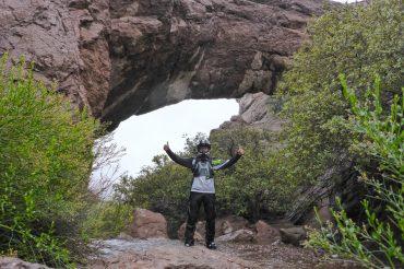 Waterfalls in the Desert: Murl Emery Arch