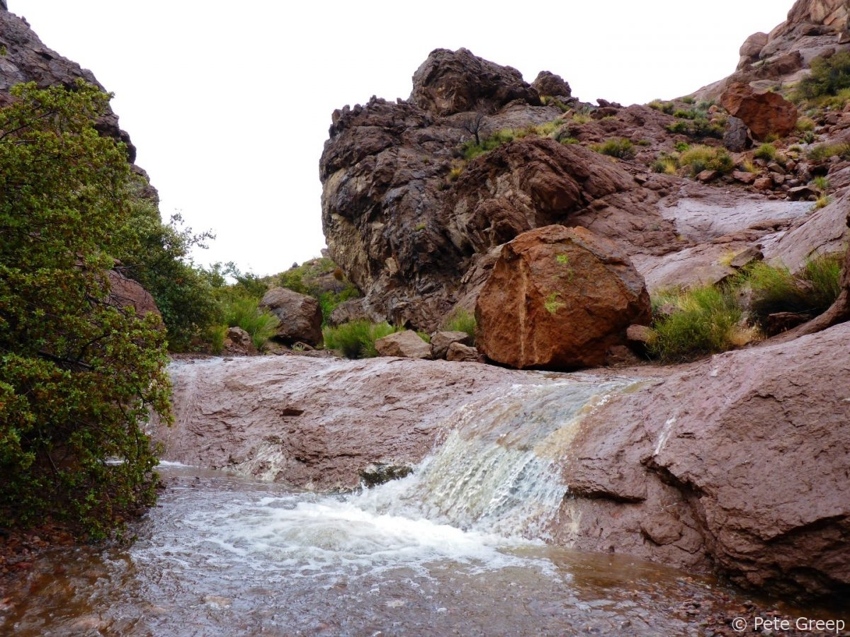 Waterfalls in the Desert: Murl Emery Arch