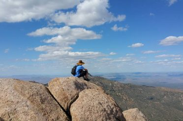 Hiking Aspen Peak / Hualapai Mountains, AZ