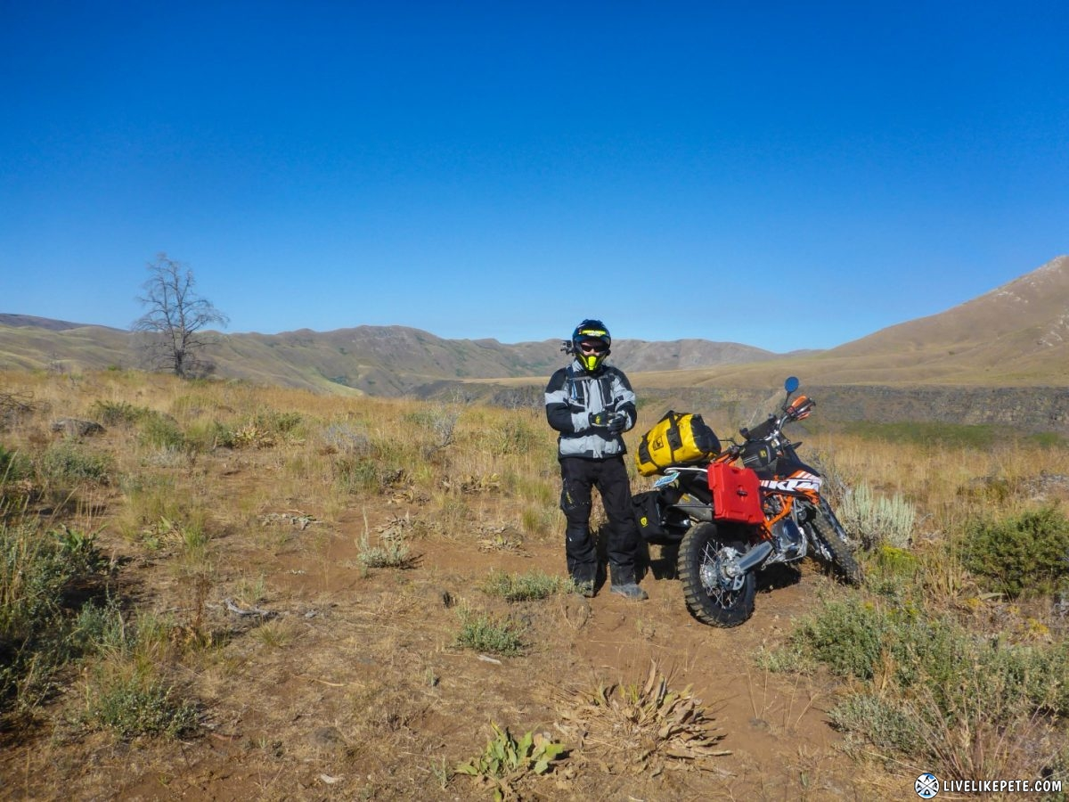 Idaho Backcountry Discovery Route, taken by Brian Hayashi