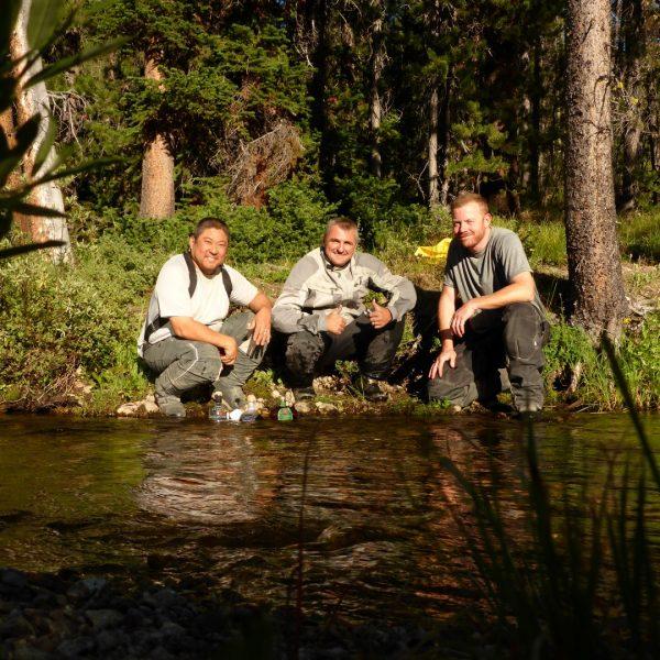 Brian Hayashi, Steve Pinch and myself (Pete Greep)
