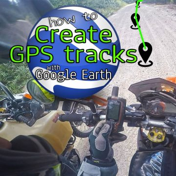 How To Create Your Own GPS Tracks Using Google Earth