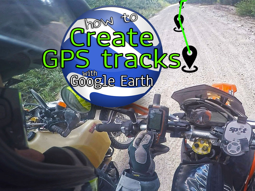 How To Create Your Own GPS Tracks