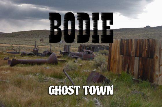 Exploring Bodie Ghost Town