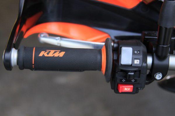Factory KTM grips