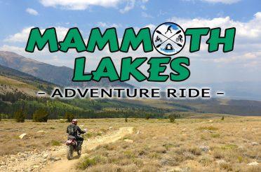 Mammoth Area Dual Sport Ride