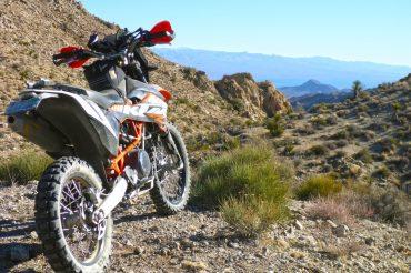Sunday Solo Ride Through the Nevada Desert