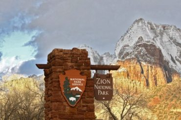Visiting Zion in the Winter