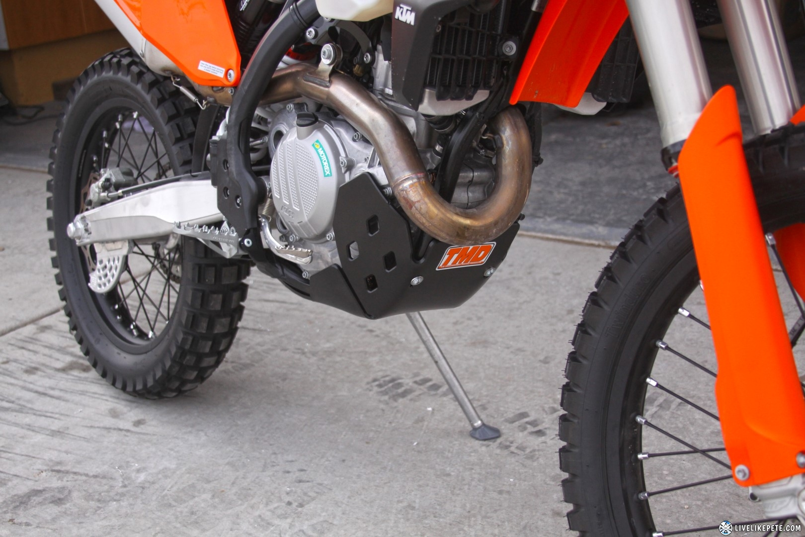 17 Ktm 500 Exc F Build Up Freeride 250 Wiring Diagram Cyra Handguards And Sicass Deflectors W Led Turn Signals