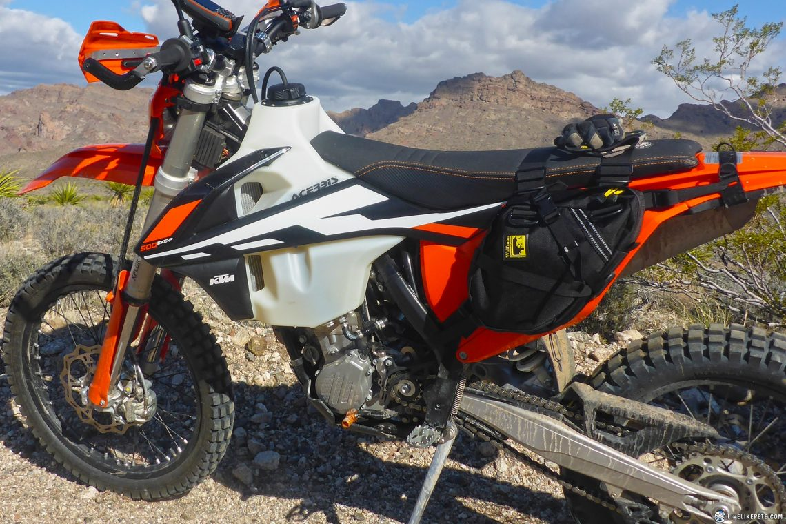 17 Ktm 500 Exc F Build Up Freeride 250 Wiring Diagram The Best Alternative That I Found To Carry Stuff Without Hindering My Ability Ride Aggressively Is Wolfman Day Tripper Bags
