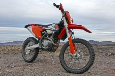 1st Ride at Nelson on the 2017 KTM 500 EXC-F