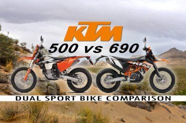 KTM 500 vs 690: Dual Sport Bike Comparison