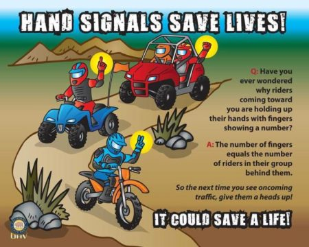 trail-hand-signals-tucson-arizona-motorcycles