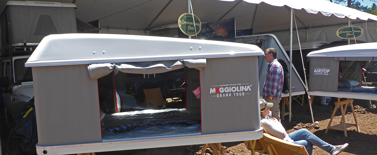 One of the much more expensive brands at the Overland Expo. & Roofnest Roof Top Tent Review | Roofnest Eagle