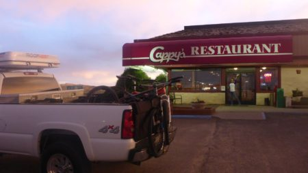 Dinner in Rawlins, WY