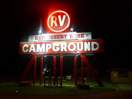 Cool little campground for the night!