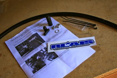 Blais Racing Block off/ Delete Kit & Breather Hose Relocation
