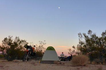 Motocamping In The Mojave Preserve