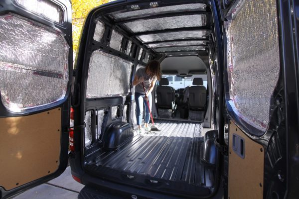 Sprinter Van Floor Project