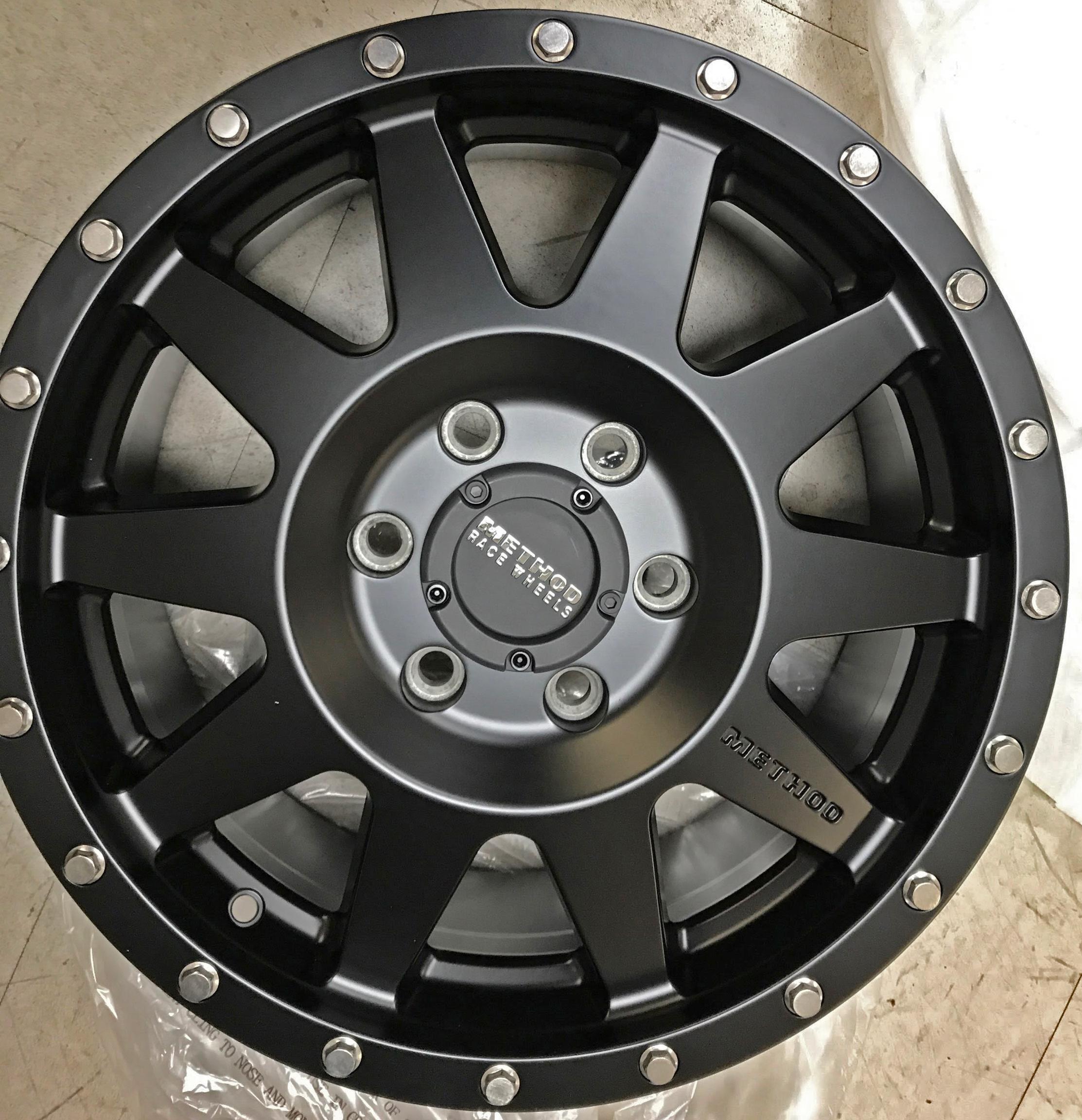 Upgraded Sprinter Van Wheels Method Wheels Nitto Ats
