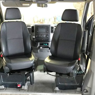 Sportcraft Swivel Seat Install: 2016 Sprinter Van