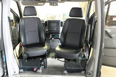Sprinter Van Sportcraft Swivel Seats Installation