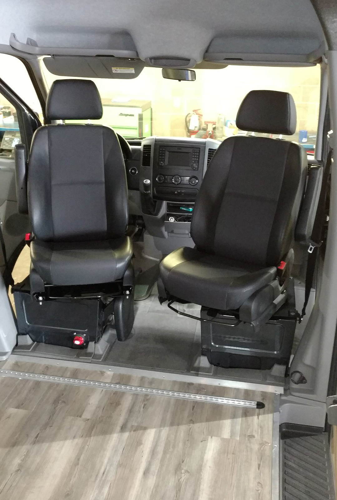 Sprinter Van Sportcraft Swivel Seats Installation