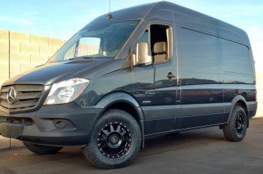 Upgraded Sprinter Van Wheels: Method Wheels & Nitto ATs