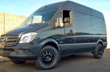 Upgraded Sprinter Van Wheels: Method Wheels & Nitto ATs