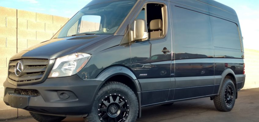 New Shoes for the Sprinter Van: Nitto ATs on Method Wheels