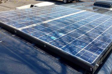 Sprinter Van 200W Solar Install