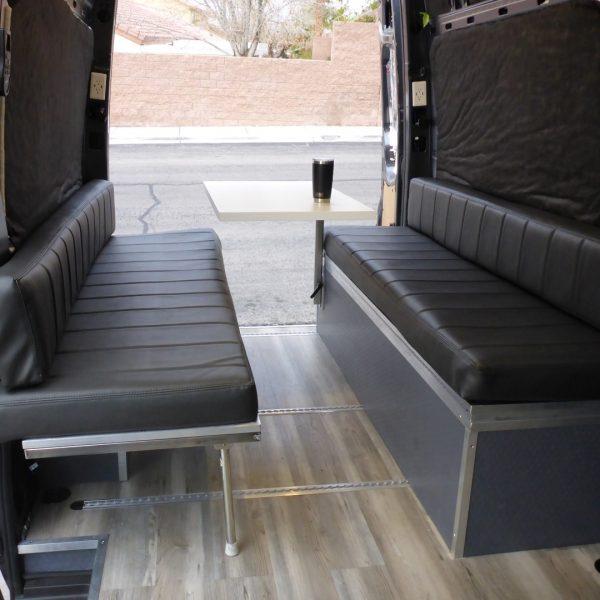 Admirable Sprinter Van Convertible Folding Dinette And Bed Creativecarmelina Interior Chair Design Creativecarmelinacom