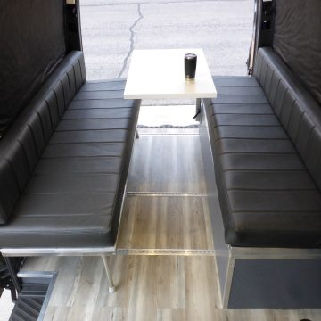 Sprinter Van Convertible Folding Dinette and Bed