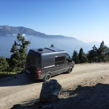 Weekend of Van Camping & MTB in Big Bear, CA