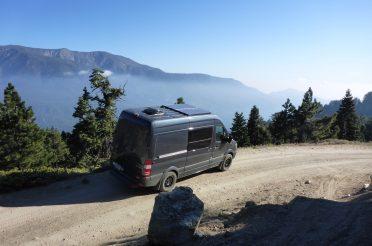 Weekend of Van Camping & MTB in Big Bear, CA