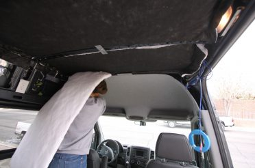 Sprinter Van Wall and Ceiling Insulation