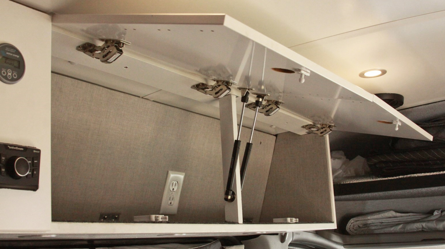 Sprinter Campervan Overhead Galley