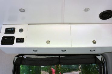 Sprinter Van Overhead Cabinet Build