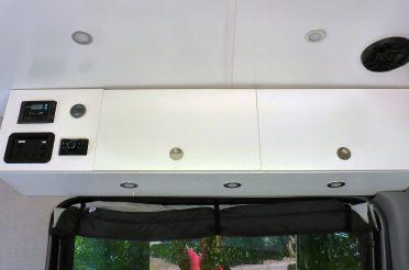 Sprinter Van Overhead Cabinet Build