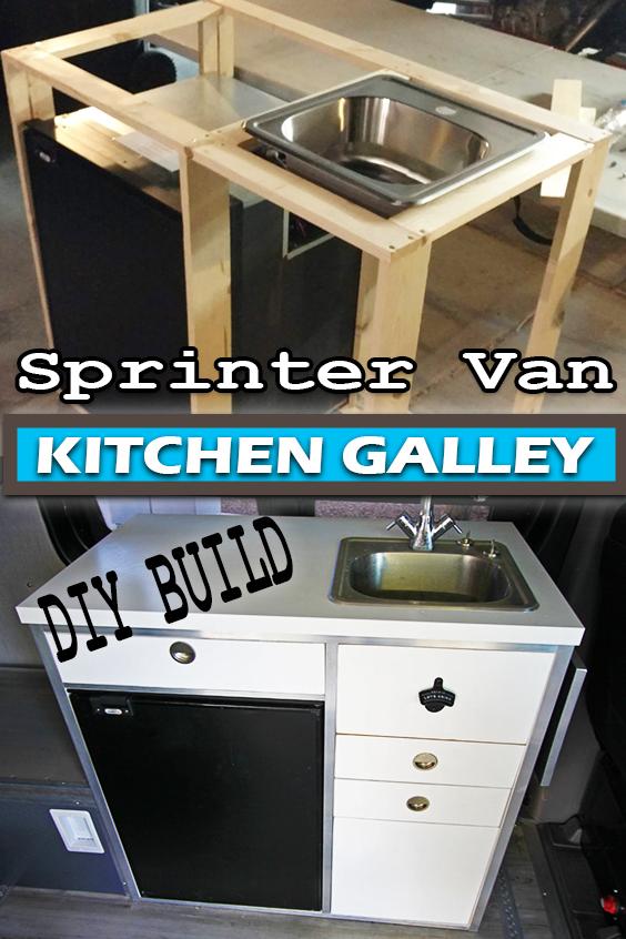 Sprinter Van Kitchen Galley Our Diy Build