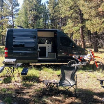 Camping and Trail Riding in Duck Creek, Utah