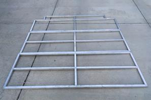 02edf82538 Sprinter Van DIY 3 Panel Platform Bed on L Track