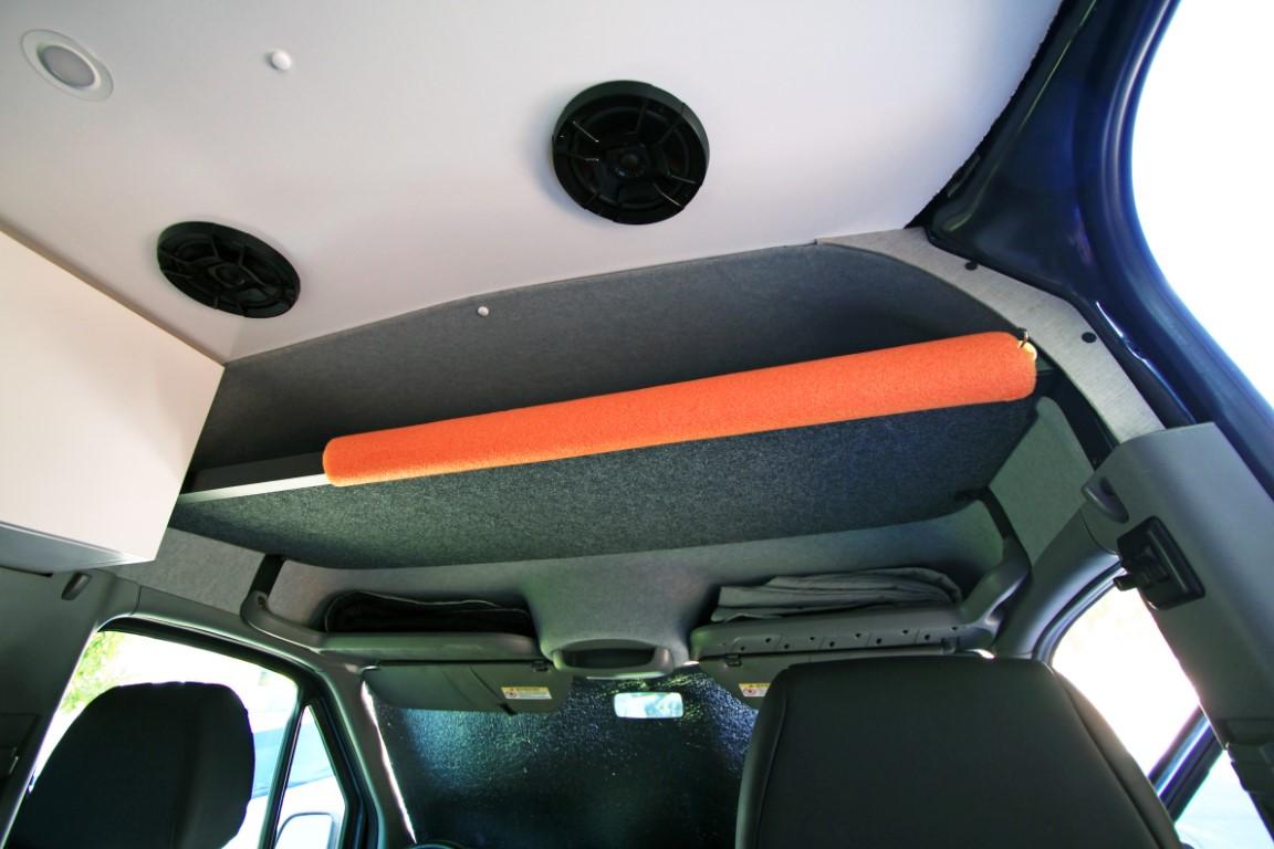 Diy Sprinter Overhead Headliner Shelf