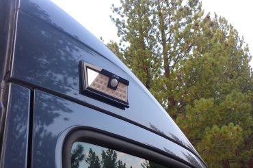 DIY Exterior Van Light: Solar, Magnetic & Motion Detected!