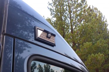 DIY Exterior Van Light: Solar, Magnetic & Motion Detected!