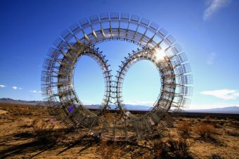 Burning Man Art Comes to Nipton, CA