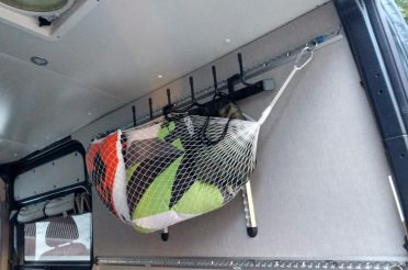 Gear Hammocks- Awesome Hanging Storage for the Van