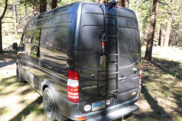 Sprinter Van Surco Ladder Installation