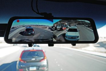 Touch Screen Camera System for Our Sprinter: VanTop H610 Mirror