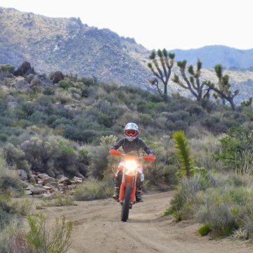 Solitude in the Mojave Preserve: Camping & Ride Report